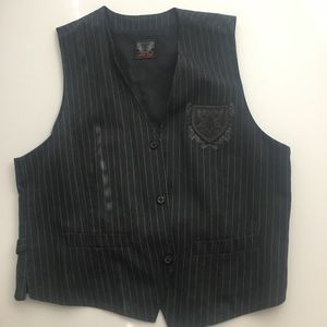 Other - EUC Charcoal Grey Vest Size:  XL